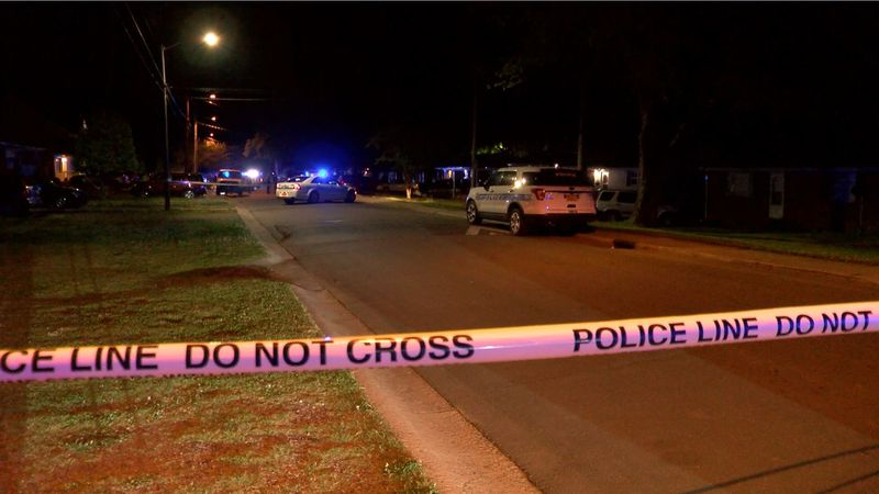 Police officers say one person was shot and killed on Finchley Drive early Saturday morning.