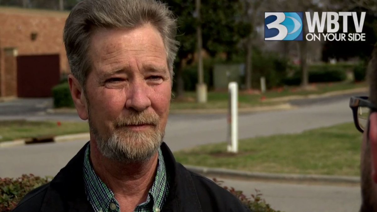 Dowless's attorney allowed a WBTV reporter to ask him two questions after he was released from...