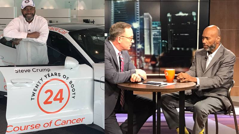 Steve Crump details his journey three years after being diagnosed with cancer