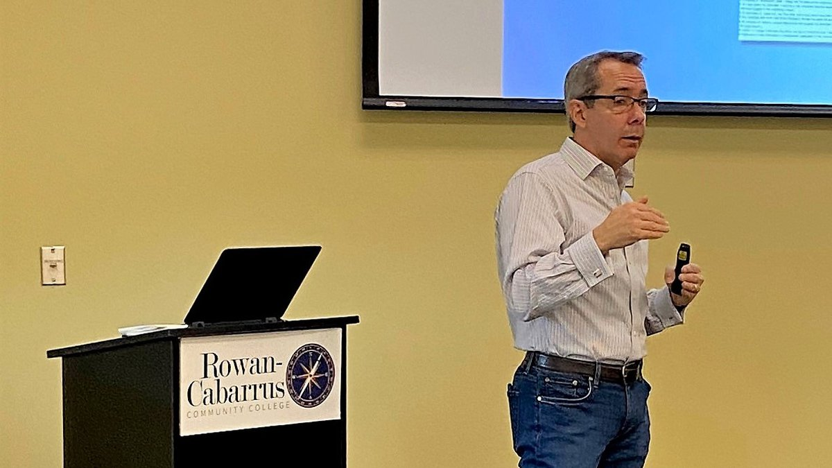 """Human resources expert Mike Coffey recently presented a workshop titled, """"Becoming a First-Rate..."""