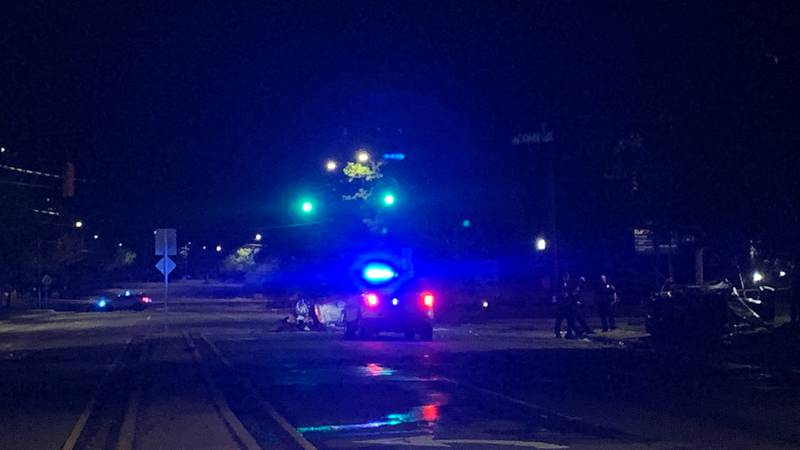 One person was killed in a crash late Wednesday night at Beatties Ford Road and Cindy Lane.