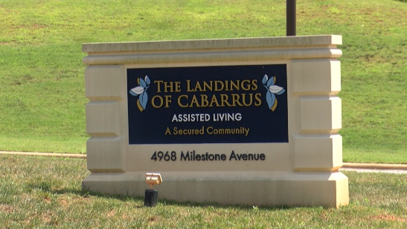 The Landings of Cabarrus is an assisted living facility in Kannapolis.