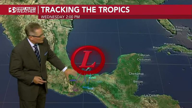 WBTV Monday morning weather forecast