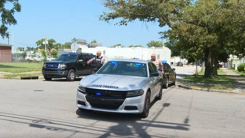 Several law enforcement agencies have responded to an incident Monday along Market Street near...