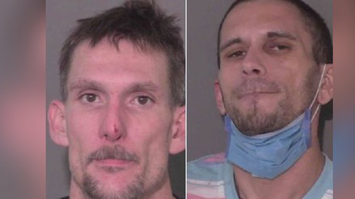 Two arrested for breaking and entering in Monroe