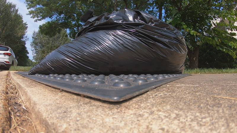 Plastic bags are no longer allowed to hold yard waste in Charlotte.