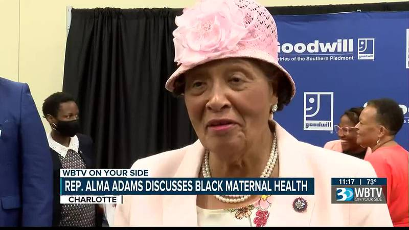 Congresswoman Alma Adams discusses Black maternal health