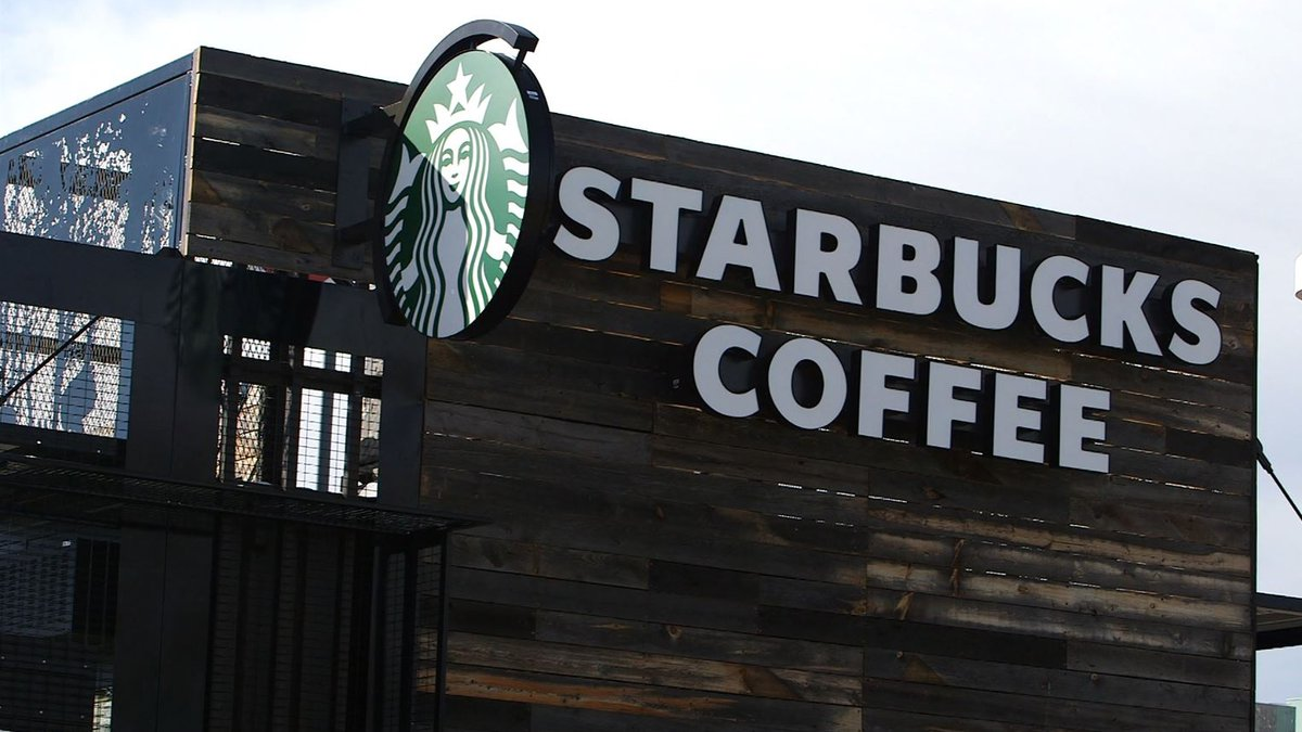 Starbucks is giving free coffee to health care workers and other first responders as they...