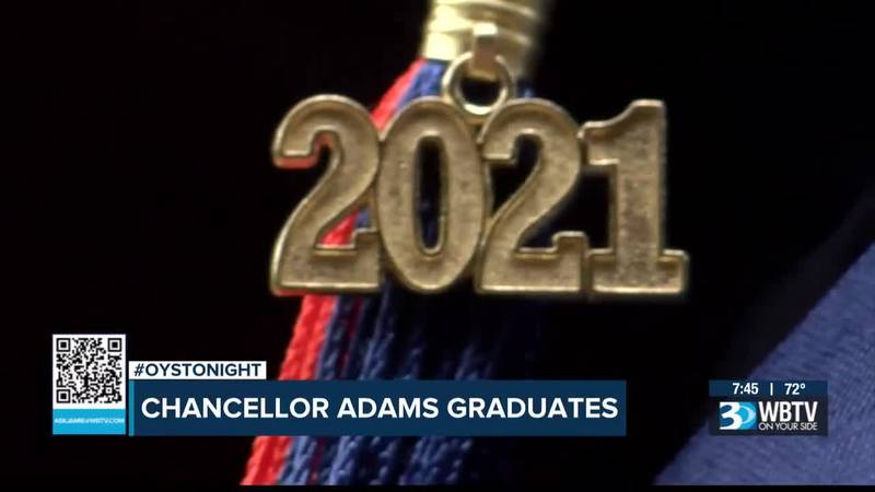 Chancellor Lee Adams overcomes lifetime of obstacles to graduate high school