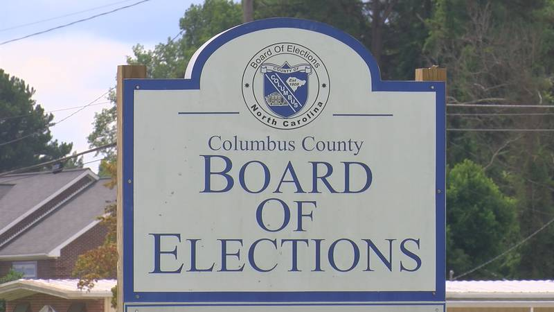 Unusual absentee ballot numbers in Columbus County general election.
