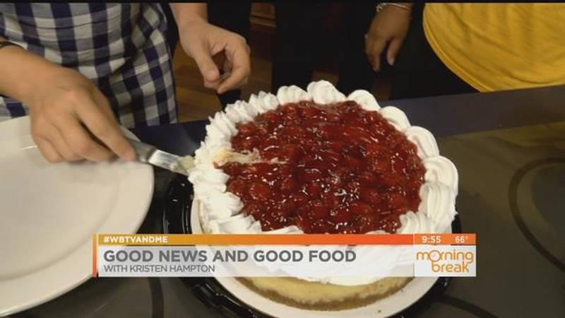 Good News and Good Food: Eyebrows, Teeth & Cheesecakes!