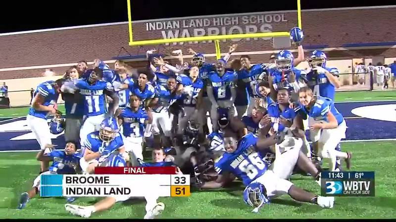Indian Land opened up a new football stadium on Friday night and they did it in grand fashion...