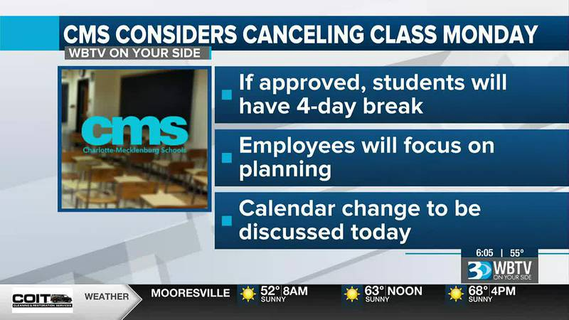 CMS leaders to consider additional day off for students