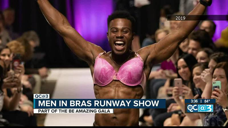 The Men In Bras Runway Show is bringing a unique type of gala to help donate for breast cancer...