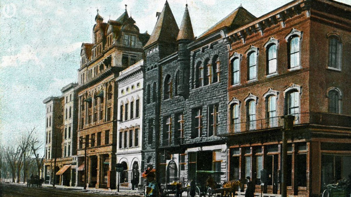 South Tryon Street 1908