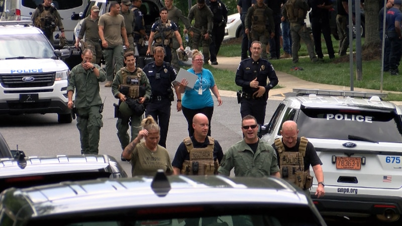 CMPD's SWAT team works with mental health experts to de-escalate situations.