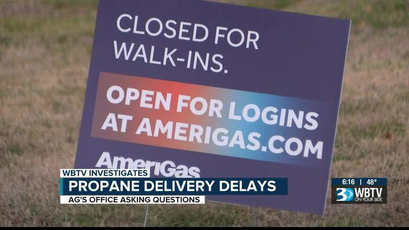Dozens claim delayed propane deliveries from Amerigas threaten warmth during winter
