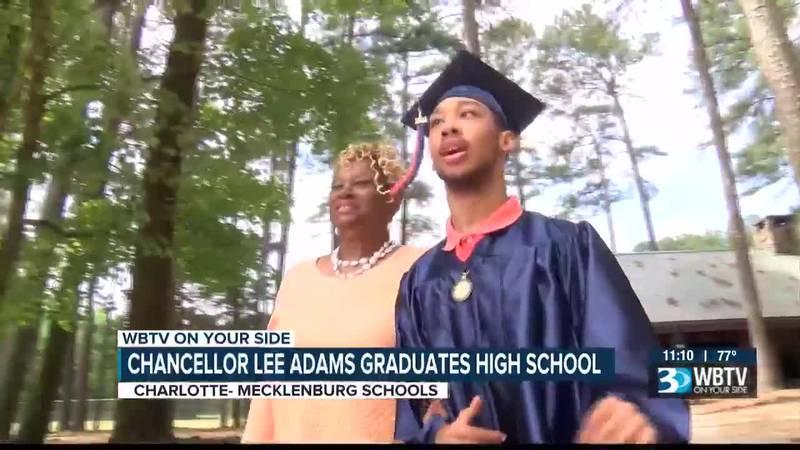 Chancellor Lee Adams graduates high school