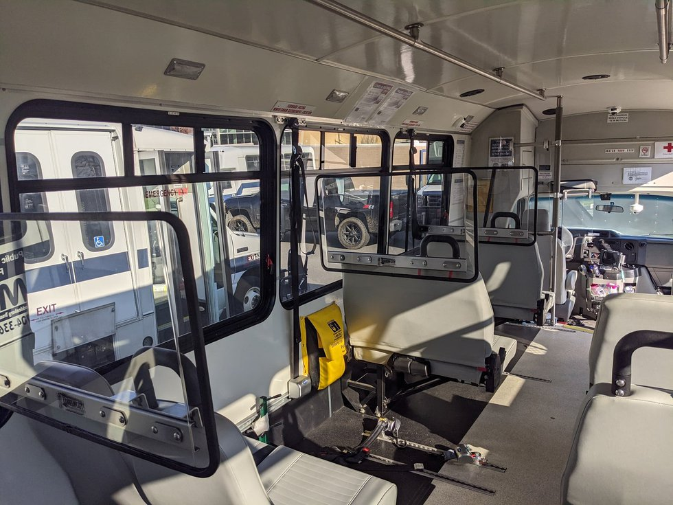 These barriers shield each individual row of seats throughout the vehicle and are easily...
