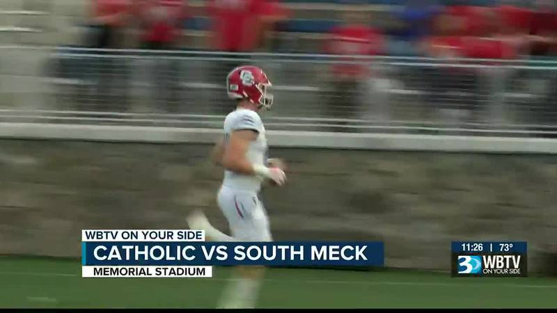 Charlotte Catholic starts the season 1-0 after a 13-6 victory over South Meck.