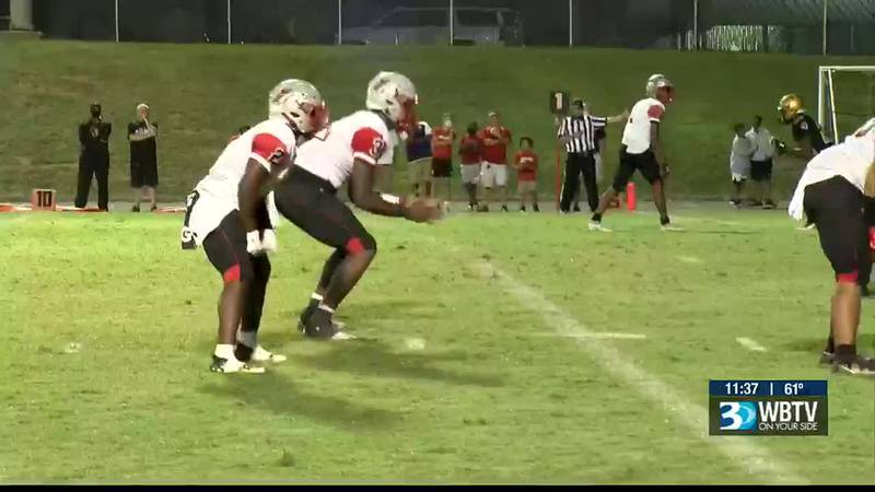 South Pointe and Shelby played a great one on Friday with the Stallions holding off a late...