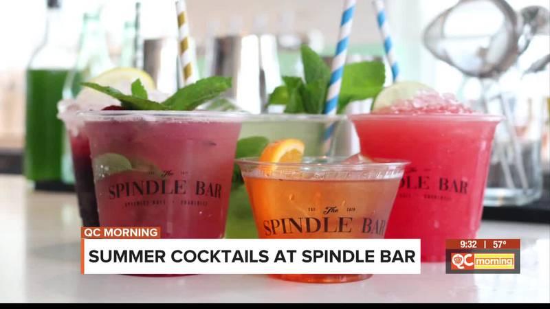 Summer cocktails at Spindle Bar