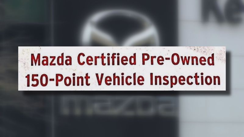 Despite receiving a certified pre-owned checklist, a woman's used car had significant problems.