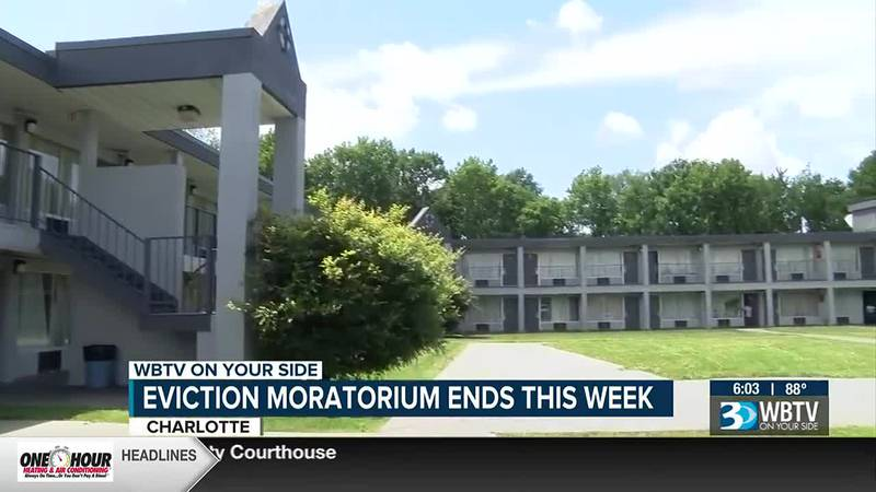 Eviction moratorium ends this week