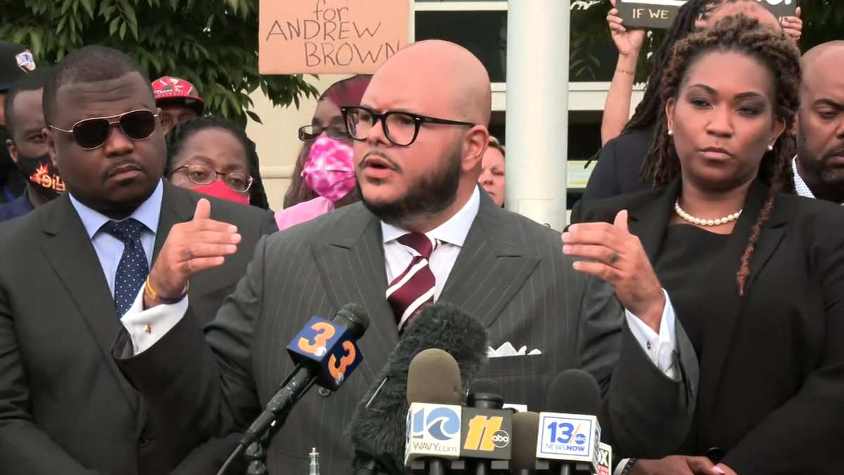 Attorneys for Andrew Brown Jr.'s family are calling his fatal encounter with law enforcement an...