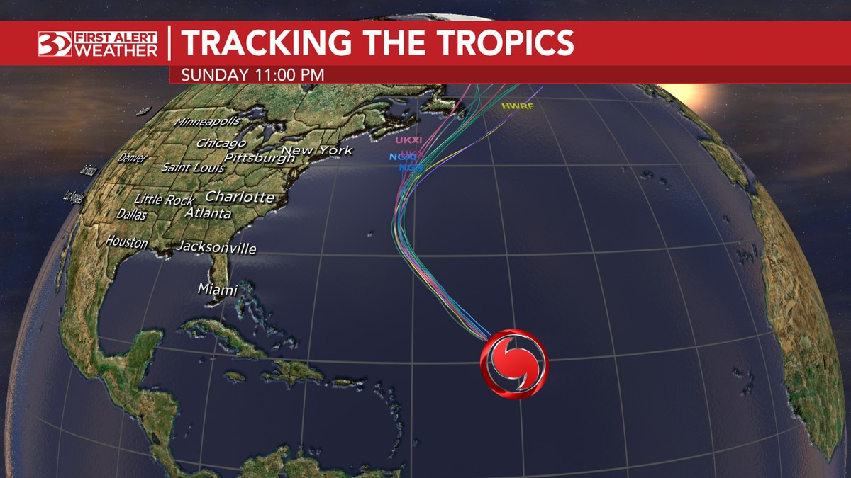 Larry remains a Category 3 hurricane.