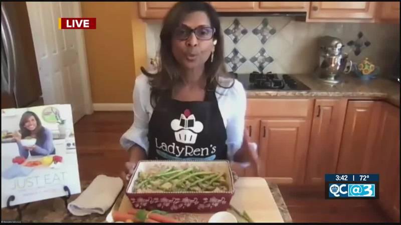 Farro Vegetable Casserole Recipe from Chef Renate Moore