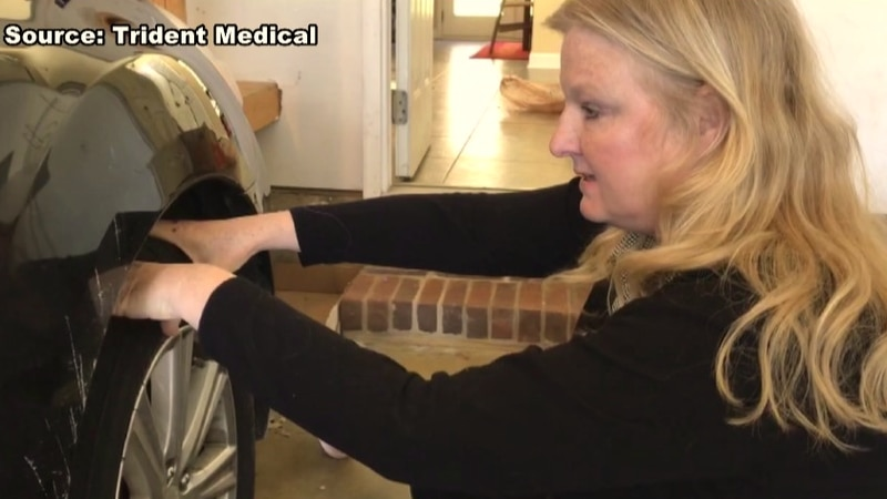 On Feb. 2, Kathy McDaniel pulled over to the shoulder of I-95 in Colleton County after a pot...