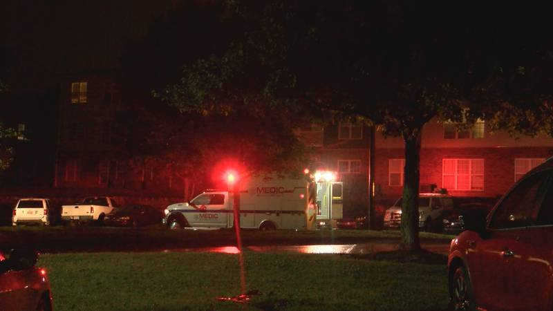 MEDIC took two people to the hospital early Sunday morning for gunshot wounds.