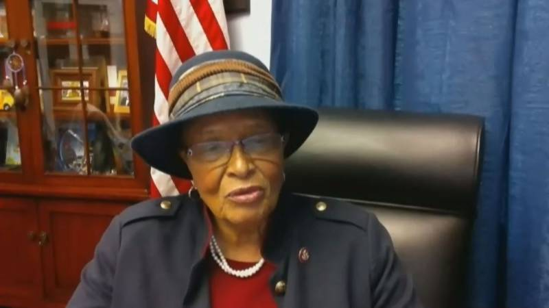 Congresswoman Alma Adams talks with WBTV about the importance of passing a new Covid-19...