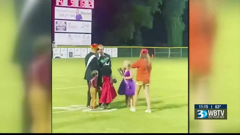 A Catawba County high schooler winning her dream of becoming homecoming queen. But what makes...