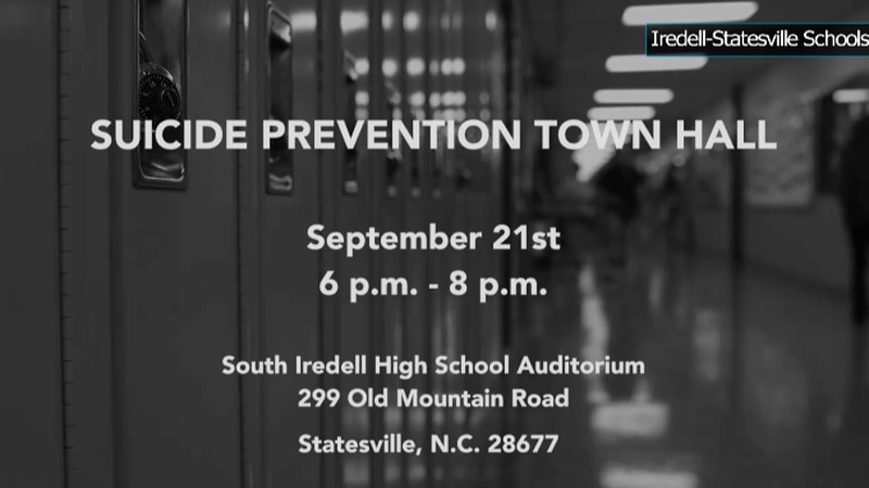 South Iredell High School will host the town hall Tuesday at 6pm.