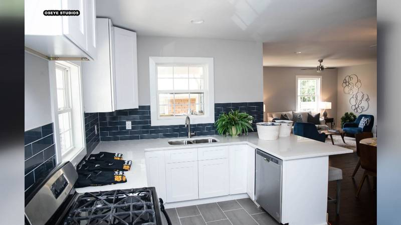 An affordable home options was unveiled Friday in west Charlotte. (Photo: Oseye Studios)
