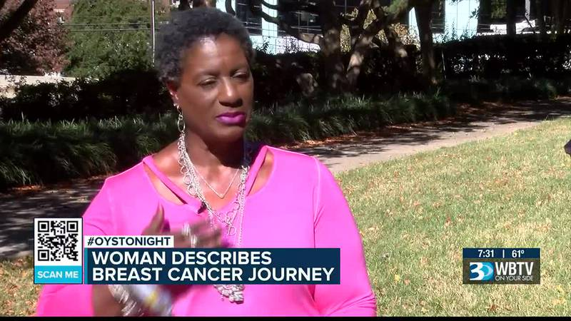'I'm gonna fight this.' Woman describes her breast cancer journey