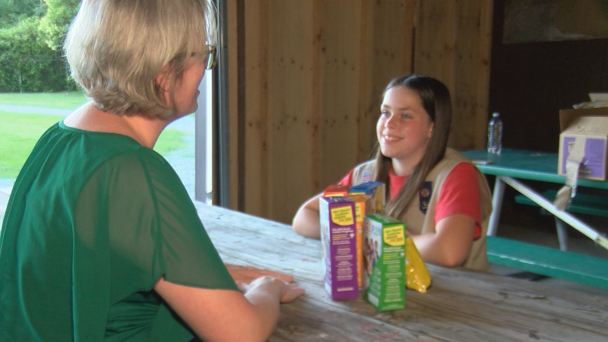Some Girl Scouts in Charlotte have gotten innovative to sell cookies in 2021.