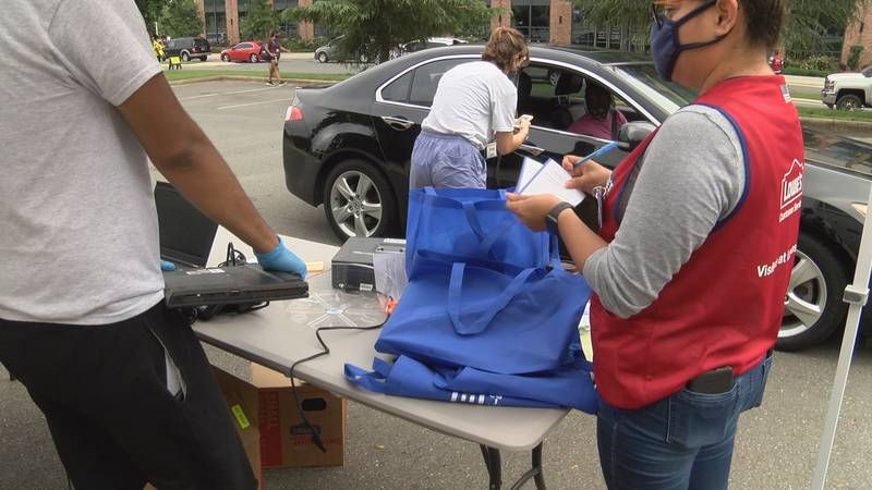 More families in Charlotte will be ready for the new school year. One group is helping parents...