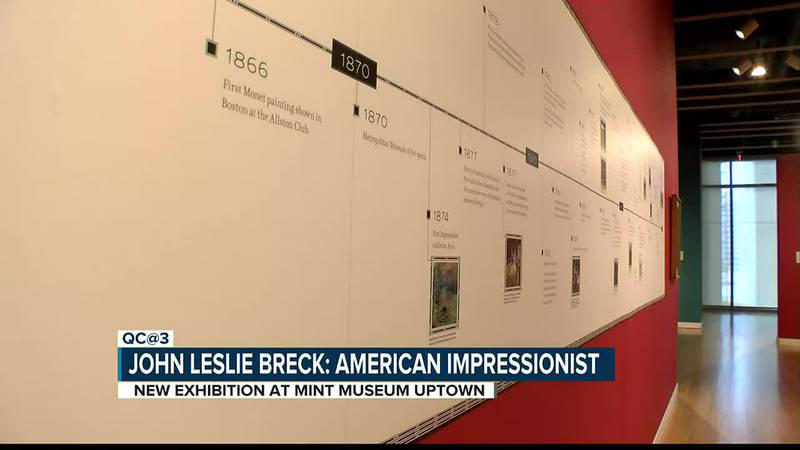 Dozens of paintings not seen publicly in 100+ years on display in new Mint Museum exhibit