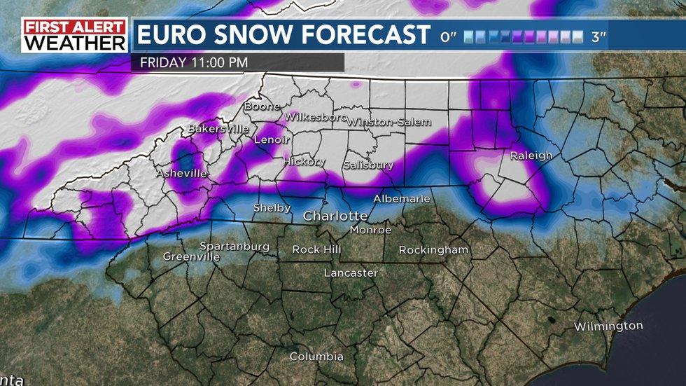 EURO Snowfall