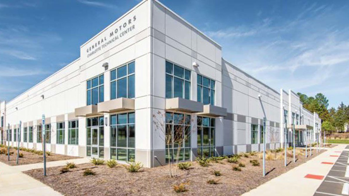 GM bought the property at 4540 Fortune Ave. NW in the International Business Park in Concord.