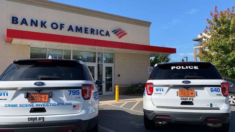 Detectives are investigating the robbery that happened at the Bank of America on Iverson Way.
