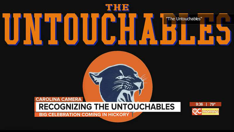 Carolina Camera: Recognizing The Untouchables as big celebration coming in Hickory