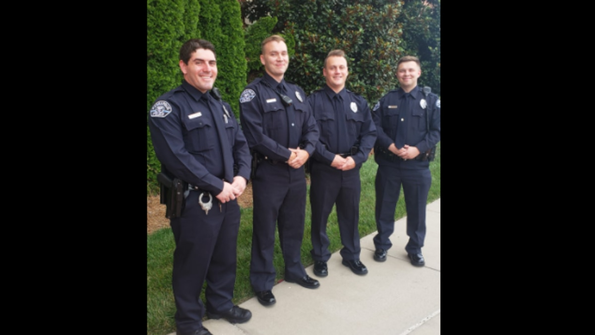 Nathan Feinstein, Tyler Lewis, Bryan Crim, and Cody Meadows have joined the Kannapolis Police...