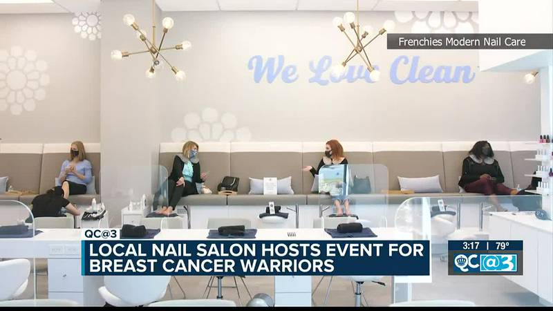 Charlotte nail salon treating breast cancer fighters with free pampering