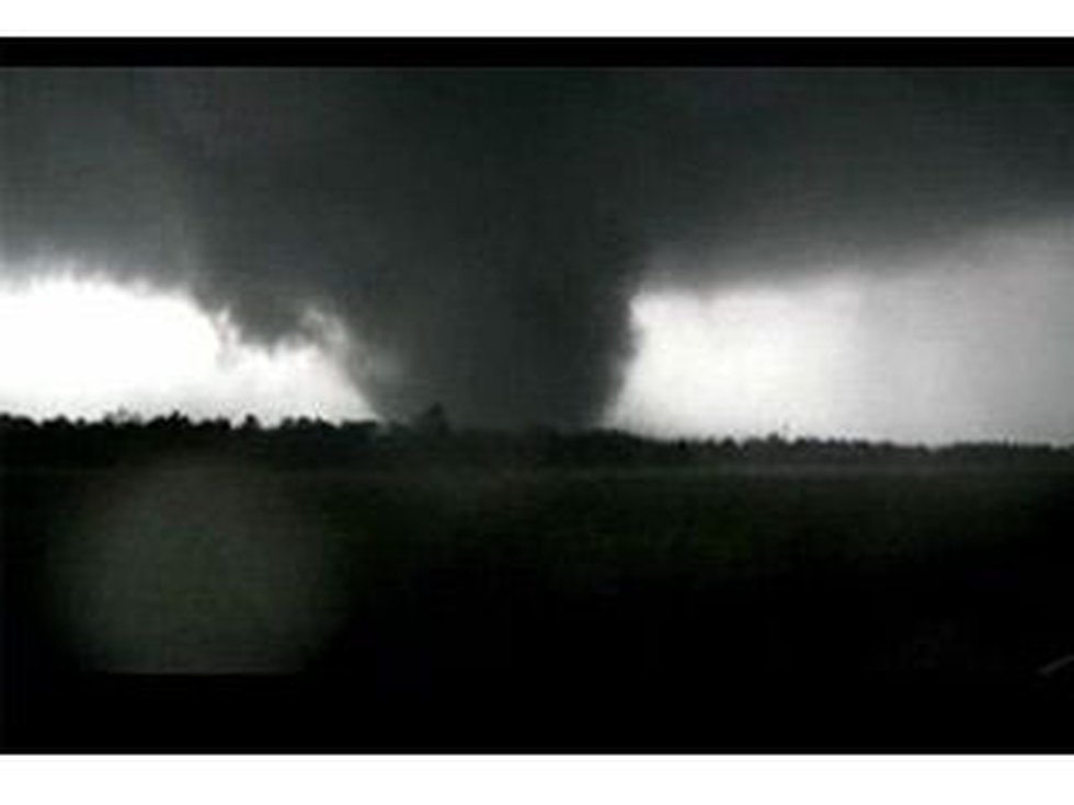A view of the tornado that hit the town of Joplin (Source: CNS Newspath)