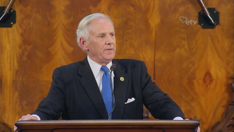 Henry McMaster delivers his 2019 State of the State address.