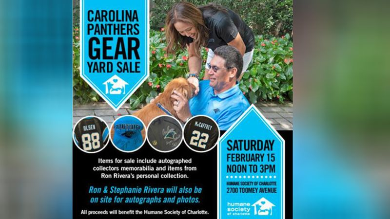 Panthers fans have the opportunity to get autographed team memorabilia this weekend by donating...